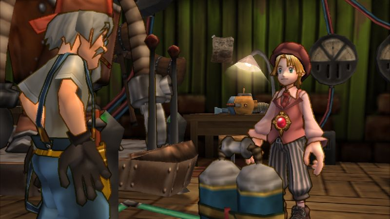 Dark Chronicle released late 2002 for PlayStation 2