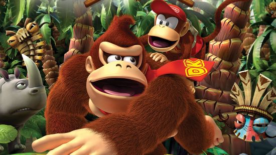 Donkey Kong games, animation and parks