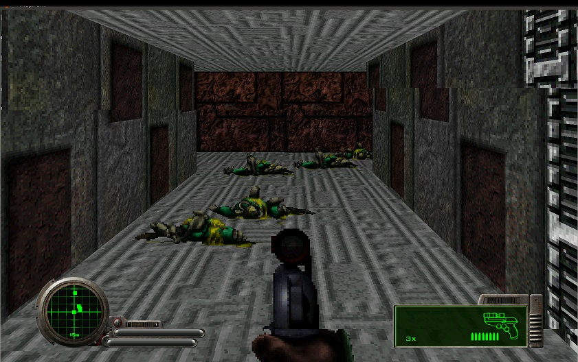 You wouldn't expect a 90s shooter to have the line Escape will make me God