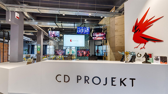 Photo of CD Projekt RED's office