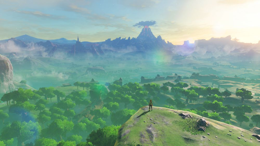 Breath of the Wild somewhat in first-person