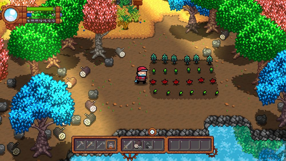 Plant, grow and mutate crops into Planimals for battle