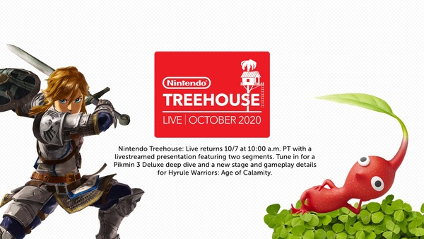 Treehouse offered details on Pikmin and Hyrule Warriors