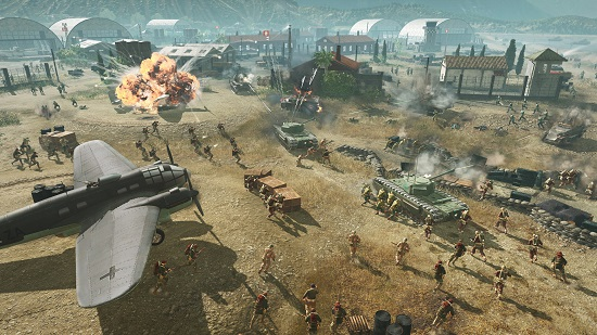 The war for Italy takes centre stage in COH3