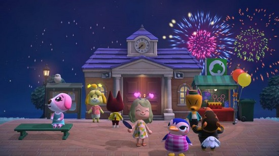 Animal Crossing will soon have new season items and weekly firework displays