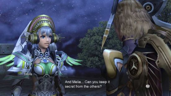 Melia is not so good at keeping sequel secrets