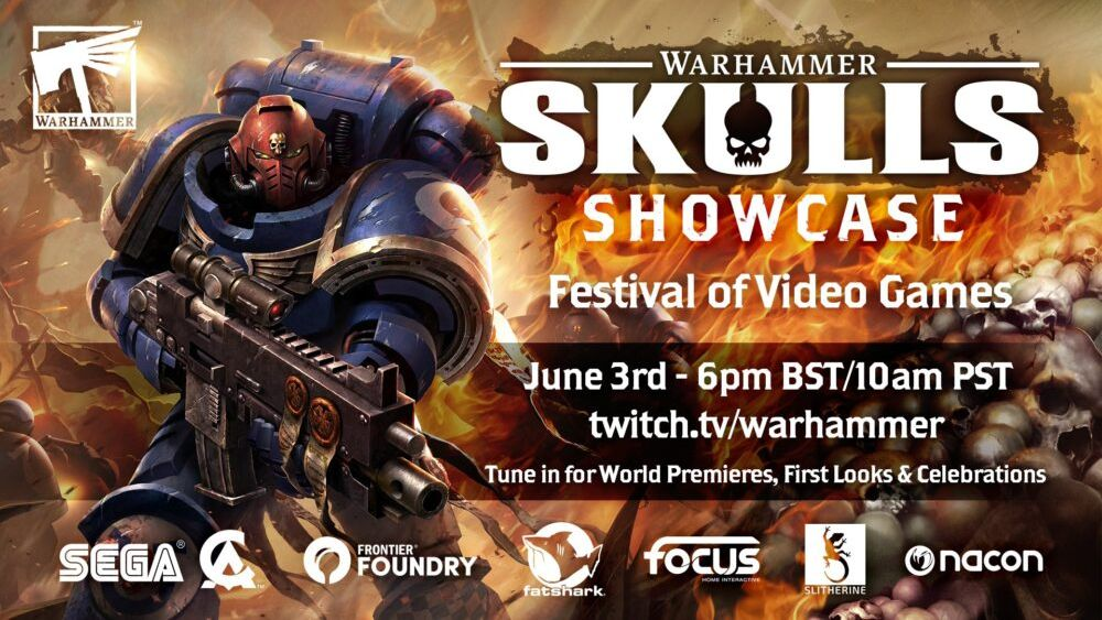 The latest Warhammer game announcements