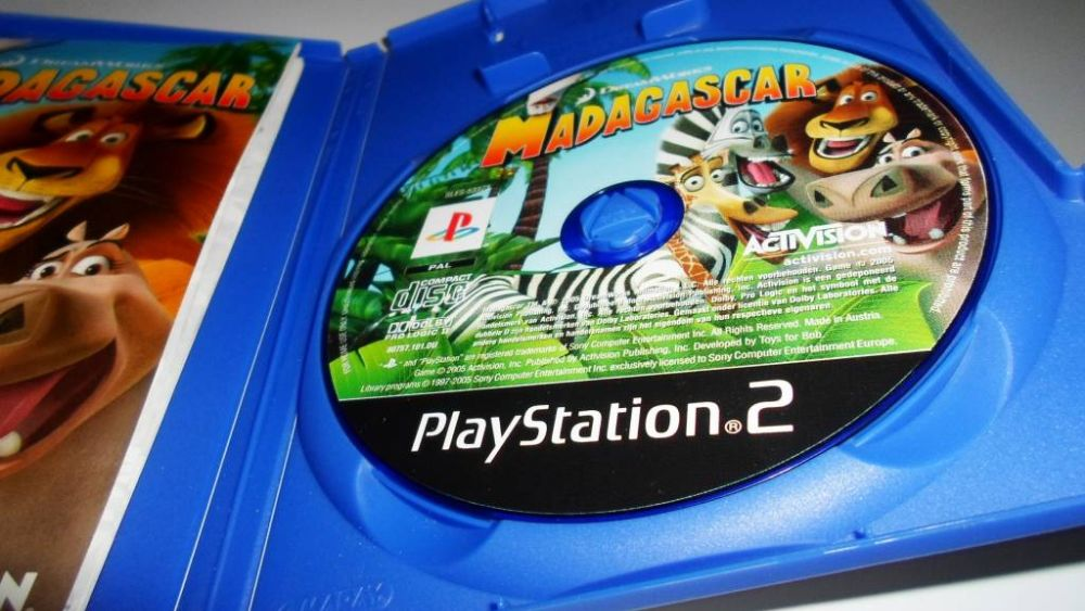 Madagascar was made by three different devs