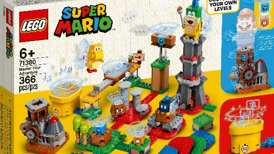The LEGO Super Mario collection is growing