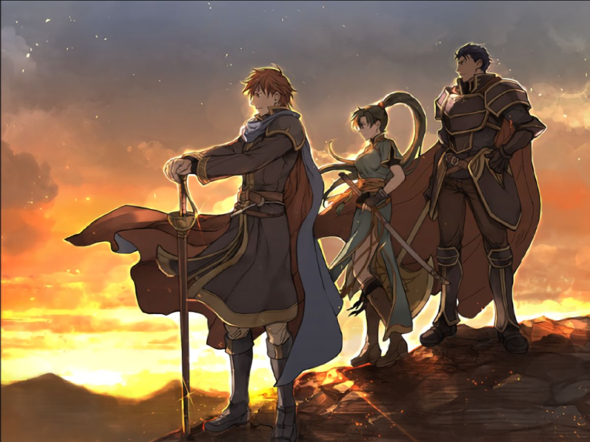 Six games later, we finally got to play some Fire Emblem