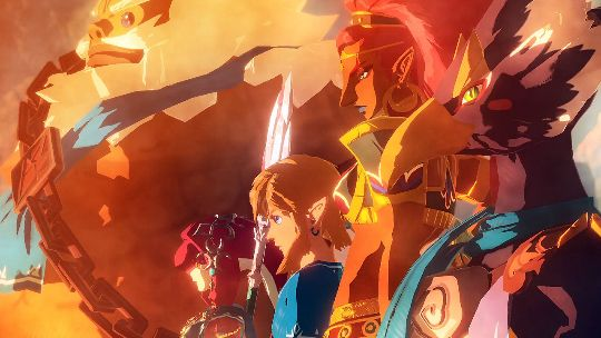 Hyrule Warriors Age of Calamity crosses with Dynasty Warriors