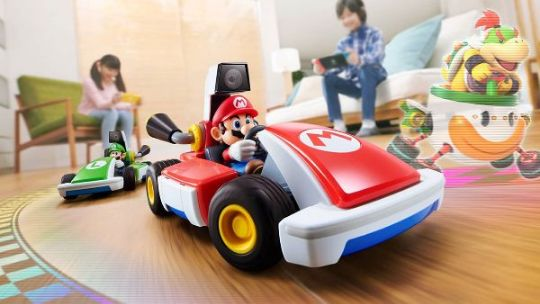 Bring Mario Kart to your living rooms, virtually