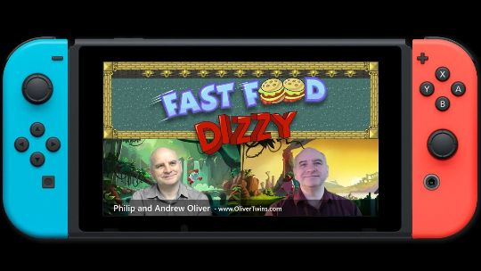 Fast Food Dizzy teaching a new generation to code