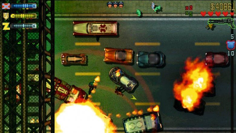 Grand Theft Auto 2 launched in October 1999