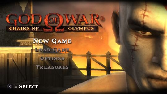 Chains of Olympus released in 2008 for PSP and PS3