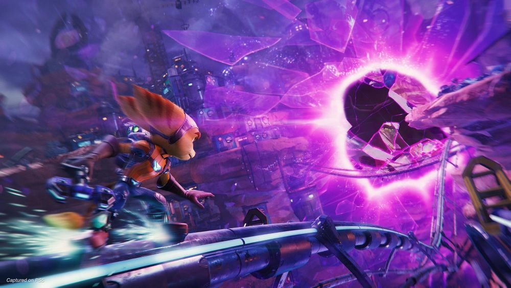Ratchet & Clank: Rift Apart is made by Insomniac Games
