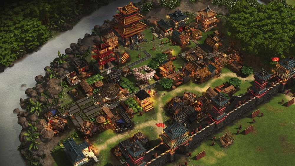Castle sim Stronghold lays siege to the Far East
