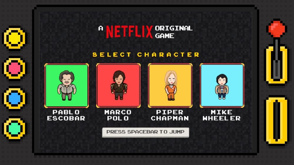 Netflix getting into the game business