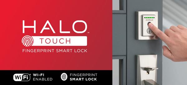 Halo Touch Fingerprint Smart Lock