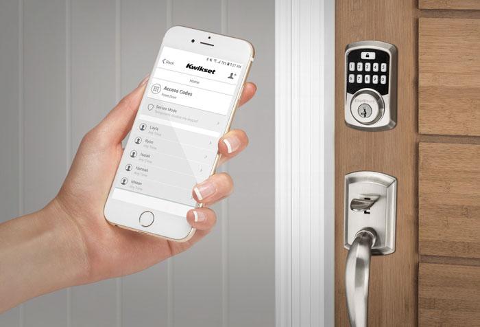 Unlock using smartphone