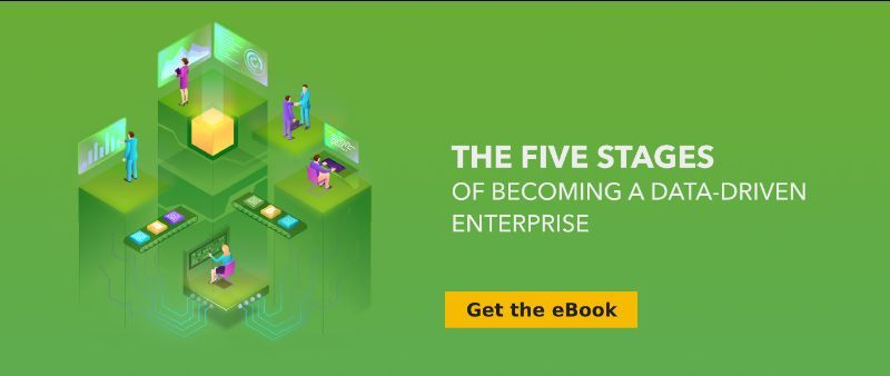 eBook - The Five Stages of Becoming a Data-Driven Enterprise.