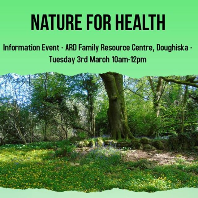 Event Poster - Invitation to Information Event on 3rd March in ARD Family Resource Centre
