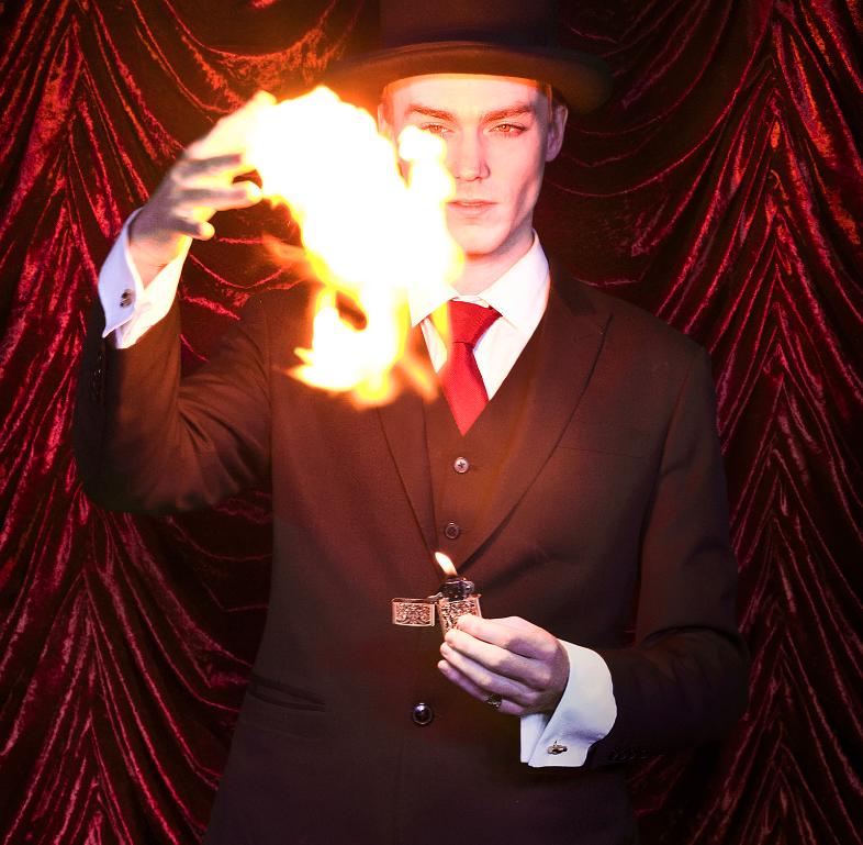 Maximillian Rendall Magician Supports WMS 2021 Gala
