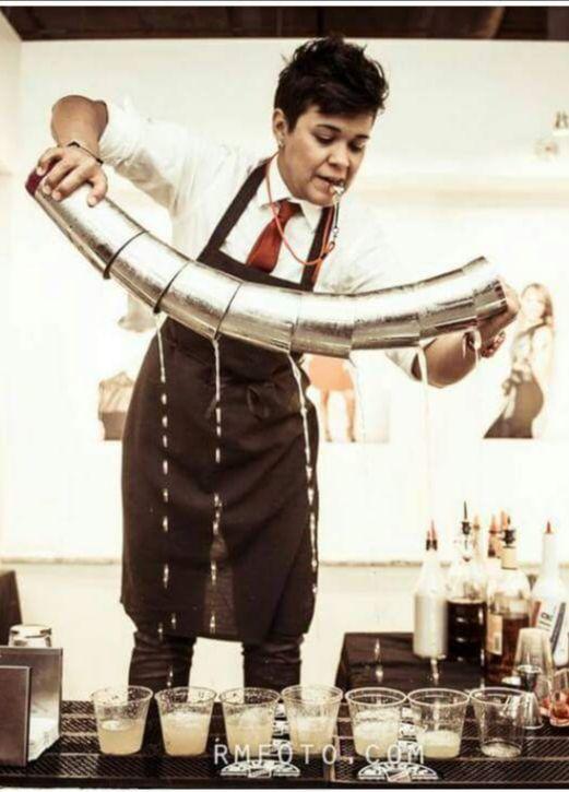 Jojo Martinez Mixology Bartender Supports WMS 2021 Gala