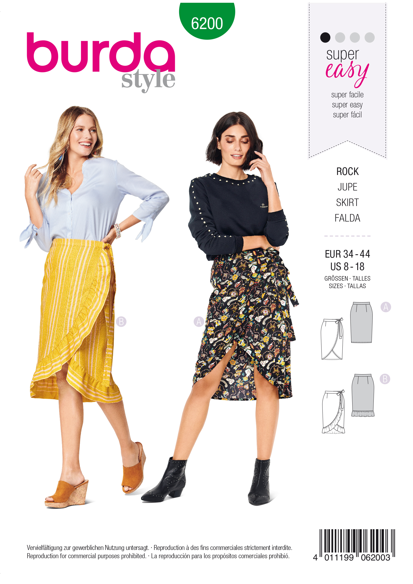 The Great British Sewing Bee inspired patterns from Sew Direct