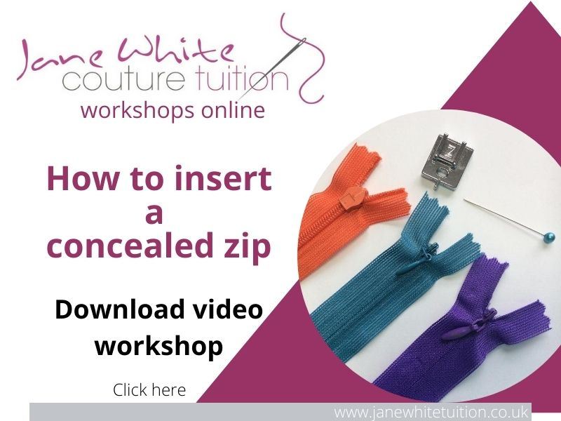 Jane White Couture Tuition download video workshop