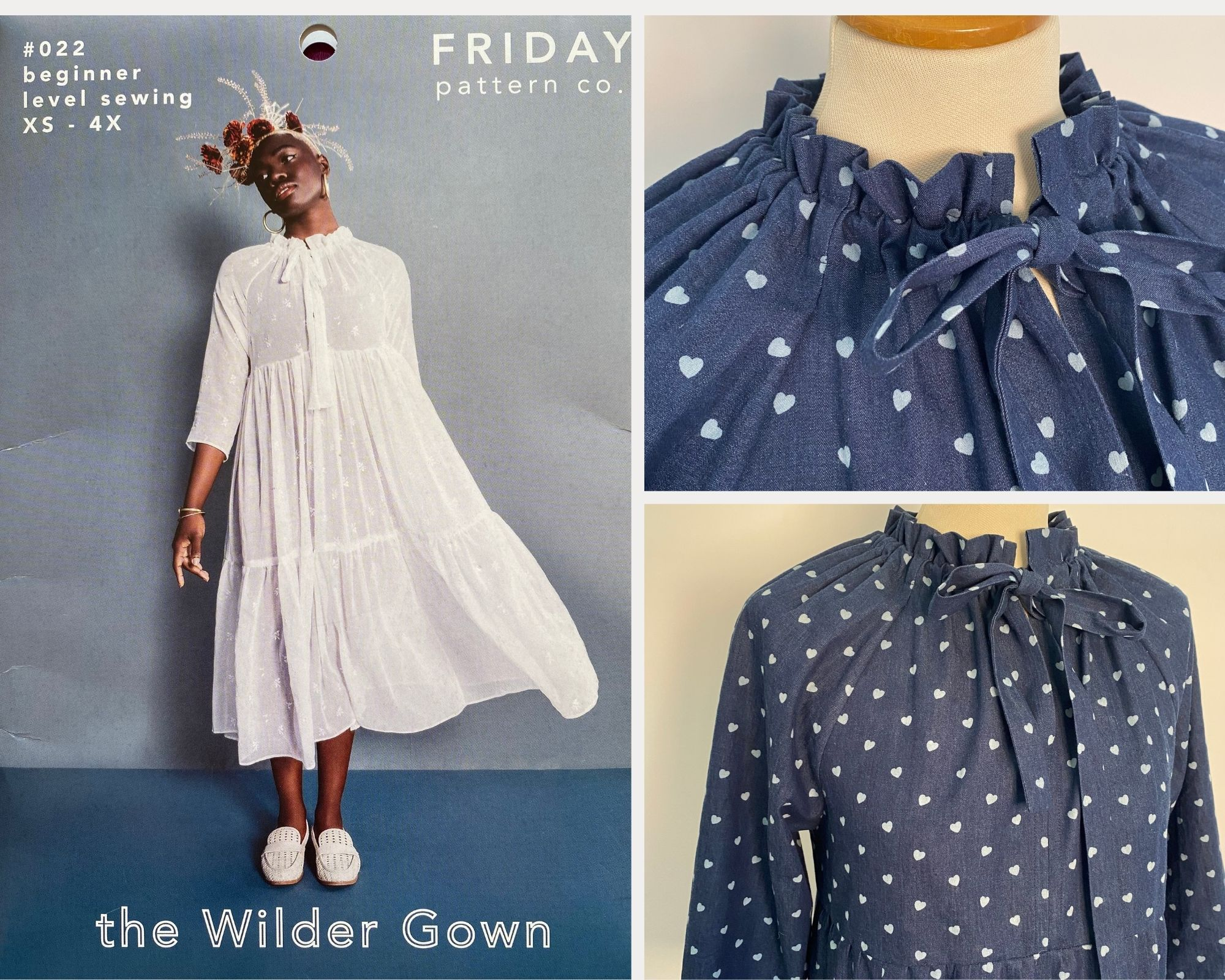 Friday Pattern Company Wilder Gown