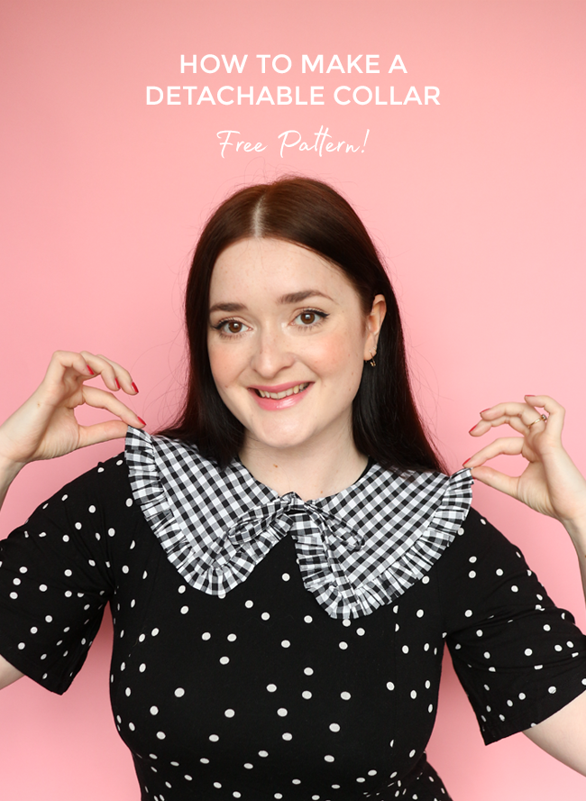 Tilly and The Buttons Detatchable Collar free download pattern