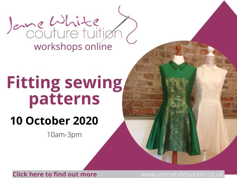 Fitting sewing patterns online workshop