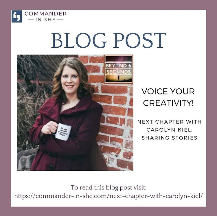 Commander-In-She blog post about Carolyn