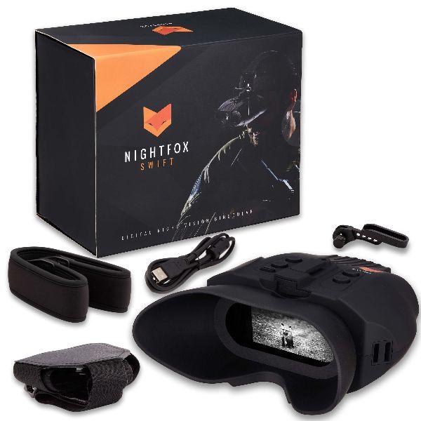 nightfox swift plus box and accessories