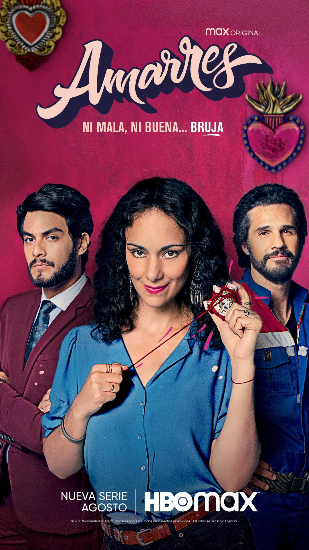 Amarres, la primera serie mexicana de HBO Max llega en agosto