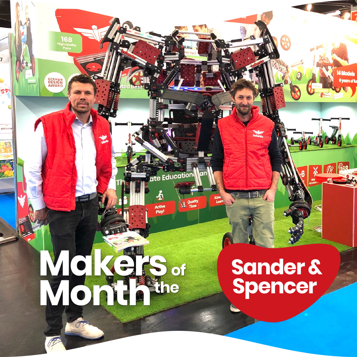 Makers of the Month photo