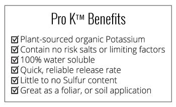 organic potassium plant based benefits