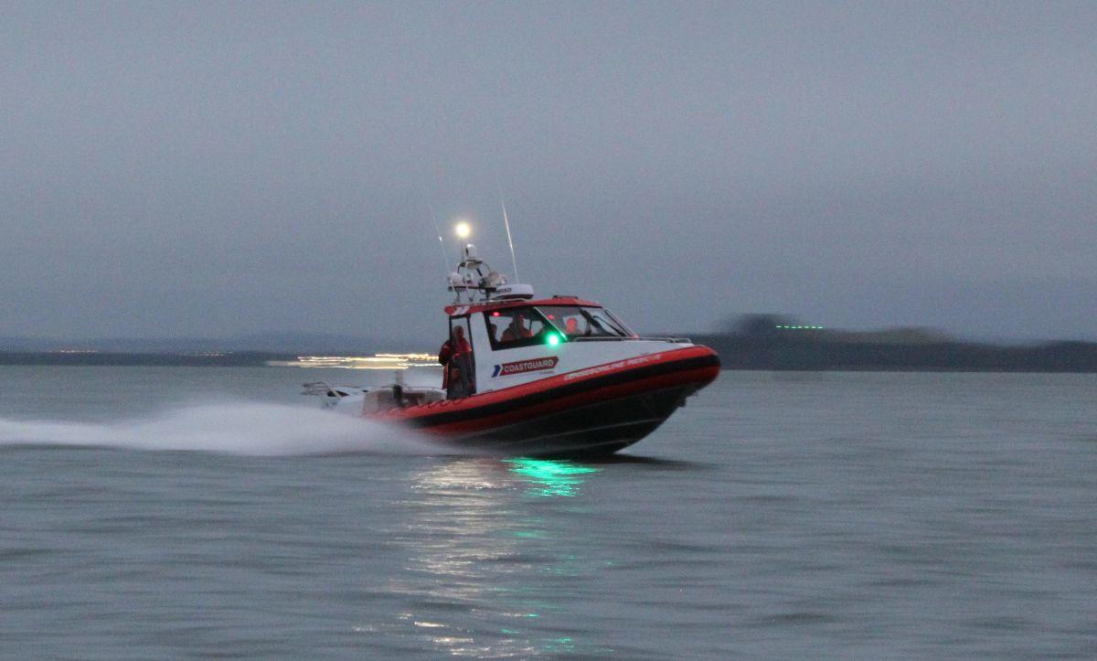 Coastguard Boat Moving