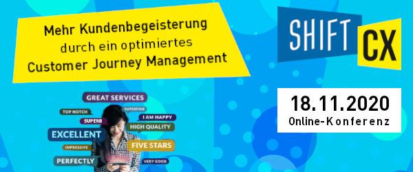 Shift/CX Customer Journey Online-Konferenz