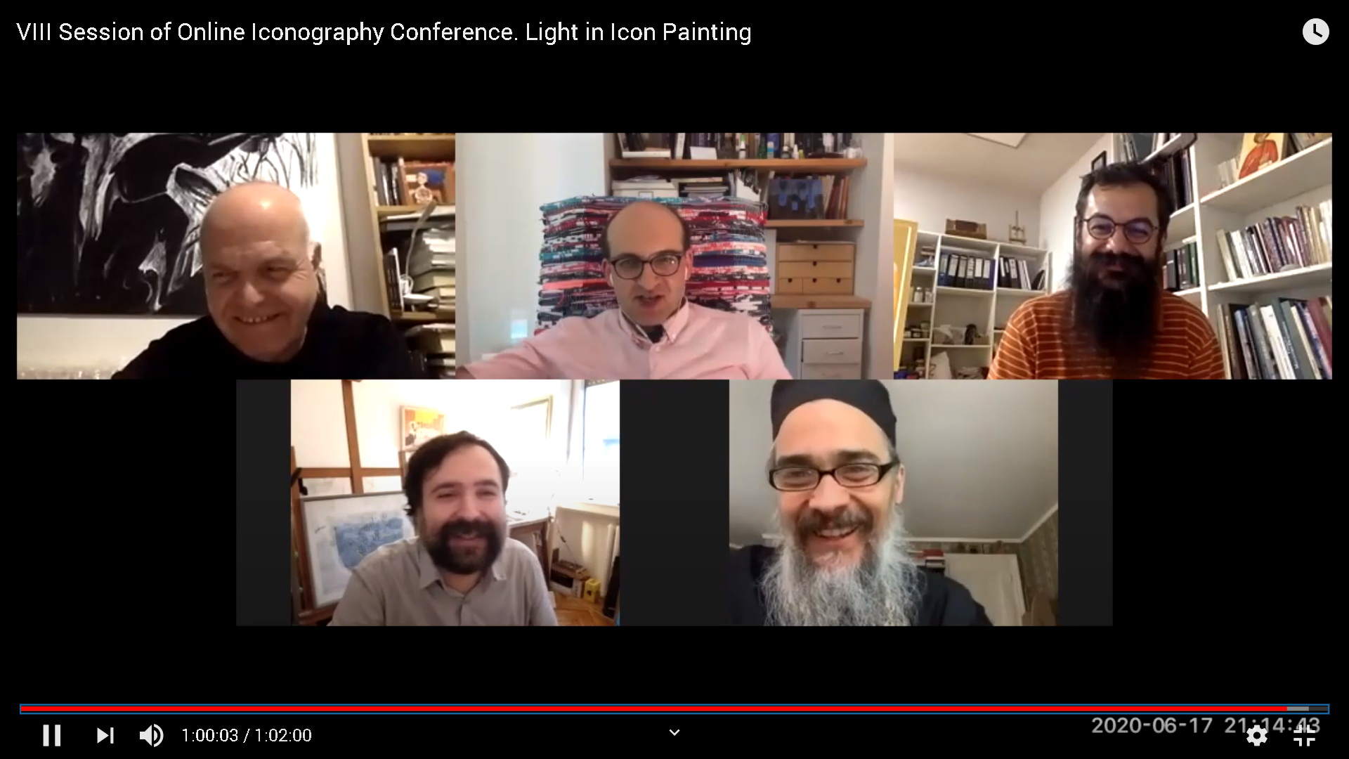 Online Iconography Conference