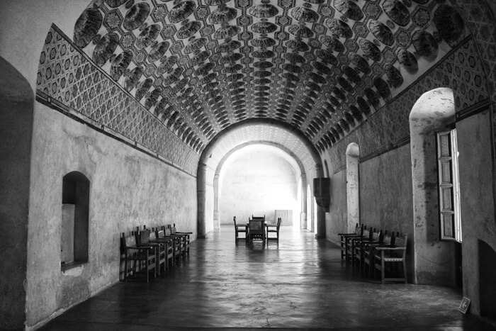 Beverley Spears, Actopan convento refectory, Actopan, Hidalgo, Mexico, 2012.