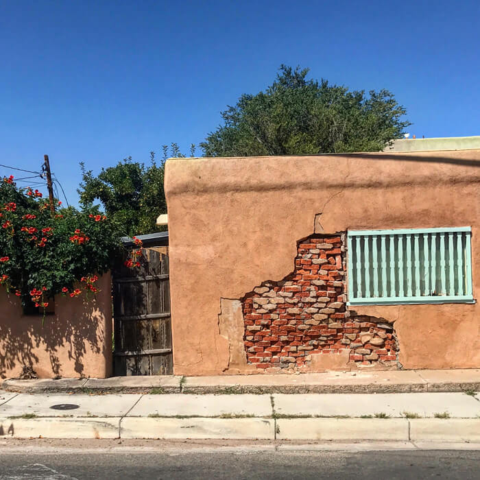 Textures and Imperfections Make Santa Fe Beautiful, 2019. Courtesy Rachel Preston Prinz.