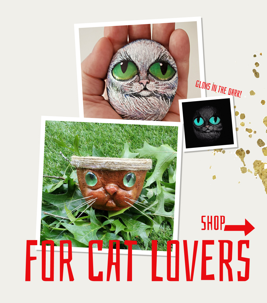 Shop gifts for cat lovers