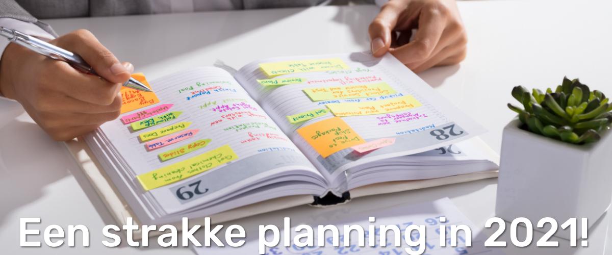 famiflora een strakke planning 2021 agenda