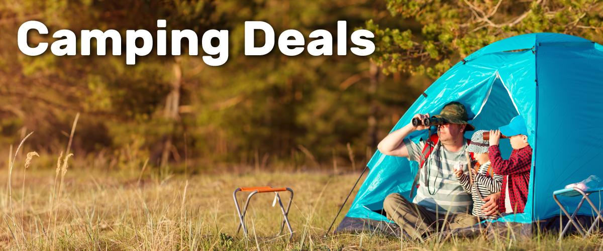 Camping deals tent