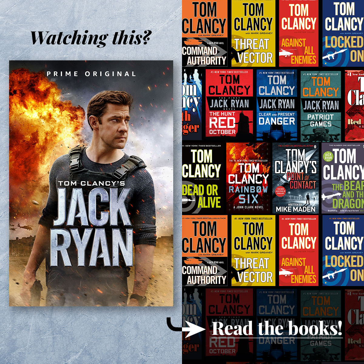 Tom Clancy's Jack Ryan • Streaming on Amazon Prime