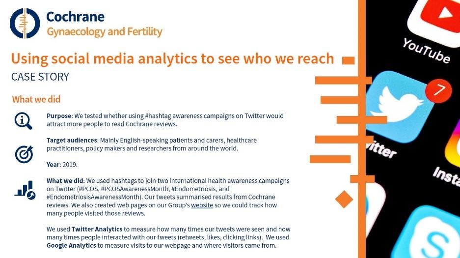 Using social media CGF case study