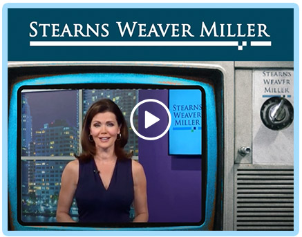 Hosting Stearns Weaver Miller's Innovative 'TV News' Special