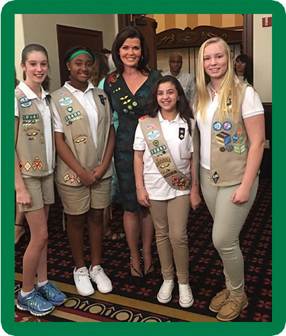 Girl Scouts Leading the Way 2021